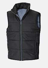 Sleeveless jackets