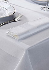 Hotel table cloths